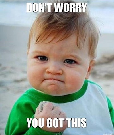 Success Kid Meme - Don't Worry You Got This - Data Privacy Tips