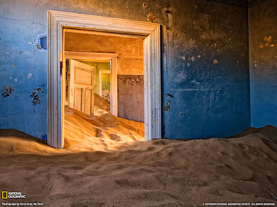 Ghost Town Kolmanskop, Namibia - 13 Spooky Places to Visit