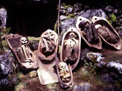 Fire Mummies Kabayan Mummy Caves, Philippines - 13 Spooky Places to Visit