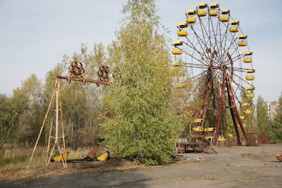 Pripyat Amusement Park, Ukraine - 13 Spooky Places to Visit
