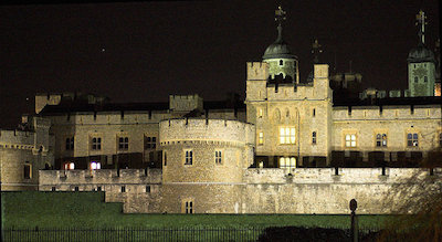 Tower of London - 13 Spooky Places to Visit