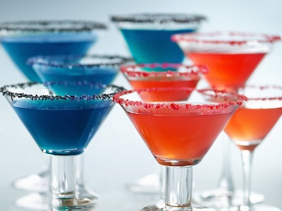 July 4th Recipes: Patriotic Margaritas