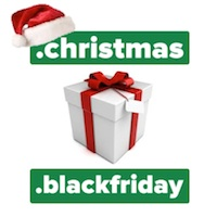 Celebrate Christmas Early This Year With .CHRISTMAS! - .CHRISTMAS & .BLACKFRIDAY Domain Launch