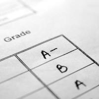 Report card - report grade - letter grade