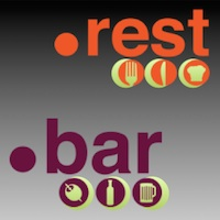 Find & Dine with .REST & .BAR Domain! - Restaurant Industry New TLD Launch