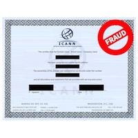 Beware of Fraudulent ICANN Domain Name Certificate Scam