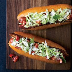 San Francisco BLT Hot Dog - American Style Hot Dog Recipes
