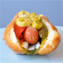 Chicago Style Dog - American Style Hot Dog Recipes