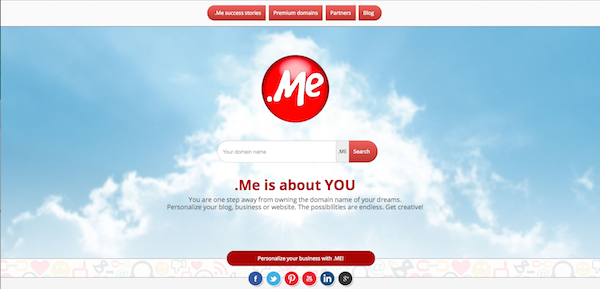 domain ME - best html5 websites
