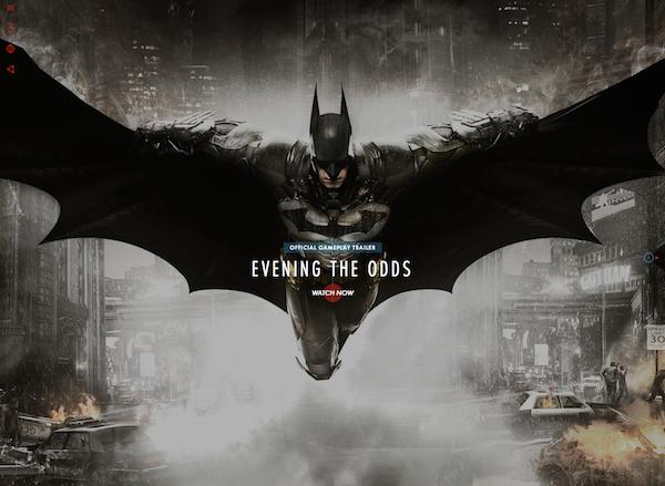 batman arkham knight website - top html5 site