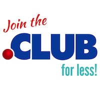 .CLUB Domain Sale - Join the .CLUB for less!
