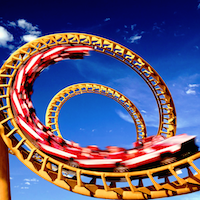 Rollercoaster Wallpaper - best rollercoasters - scarry rollercoasters