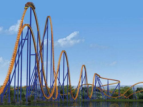 Behemoth roller coaster - canada roller coaster - scariest roller coaster