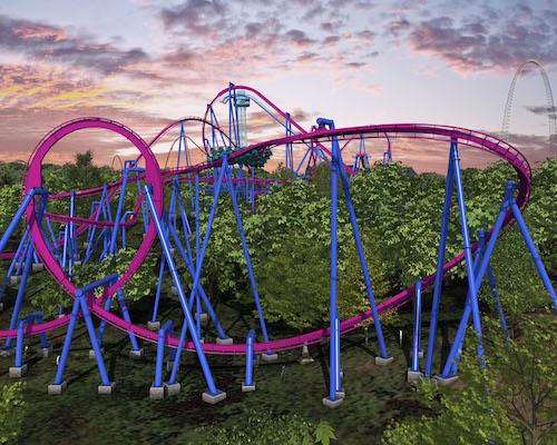 Banshee roller coaster - best scary roller coaster