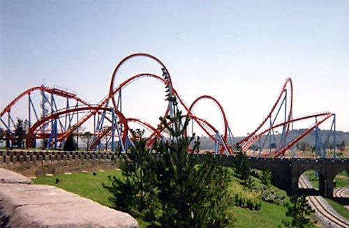 Dragon Khan - top roller coasters