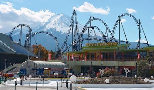 Fujiyama roller coaster - japan roller coasters