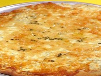 Garlic and Herb Three Cheese Pizza Recipe - National Cheese Pizza Day
