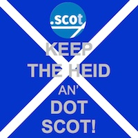 Keep the Heid and Register .SCOT Domains - .SCOT Domain Lauch