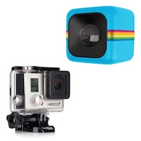 The New Polaroid Cube vs. The GoPro: What Action Camera is Right for You?