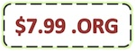 ORG Domain Renew Coupon
