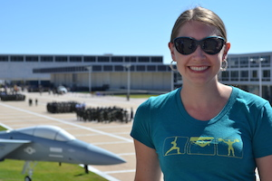 Robyn Norgan at Air Force Academy