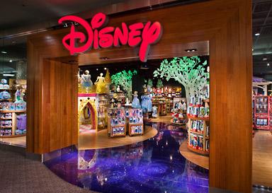 TBT Disney - Disney Store