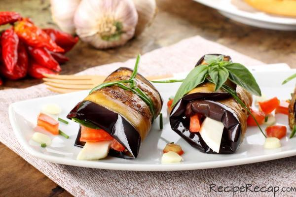 5 Recipes for Cook Something Bold Day - Italian Eggplant Rollups