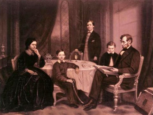 TBT Fun Lincoln Facts - Dinner