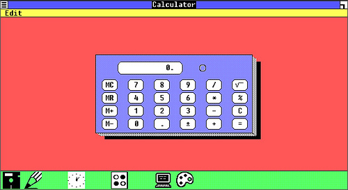 TBT Look Into the First Windows - Calculator