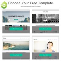 Favorite Dynadot Website Builder Features - Landing Page