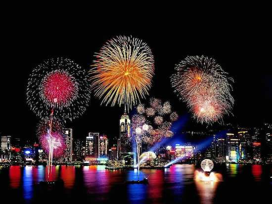 5 Best Places to Celebrate New Years - Hong Kong
