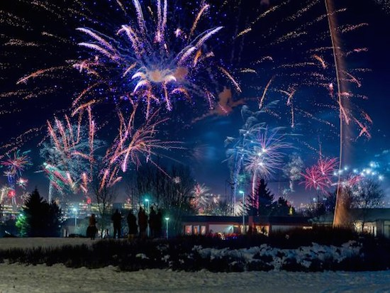 5 Best Places to Celebrate New Years - Reykjavik
