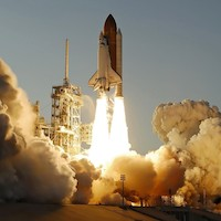 Learn .HOW to Launch Your Online .SPACE Domain! - Space Shuttle Atlantis Launch