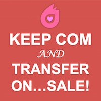Make Dynadot Your Valentine During Our .COM Transfer Sale!