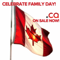 Family Day .CA Domain Sale : Register .CA Domains on Sale - Canadian Flag