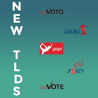 New Launching gTLDs : Register .CRICKET .PARTY .VOTE .VOTO & .YOGA Domains