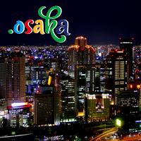 Introducing .OSAKA geoTLD : Register .OSAKA Domains : Osaka's Best Foods - .OSAKA Domain Logo