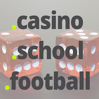 Launching TLDs : Register .CASINO Domains : Register .FOOTBALL Domains : Register .SCHOOL Domains - TLD Logos