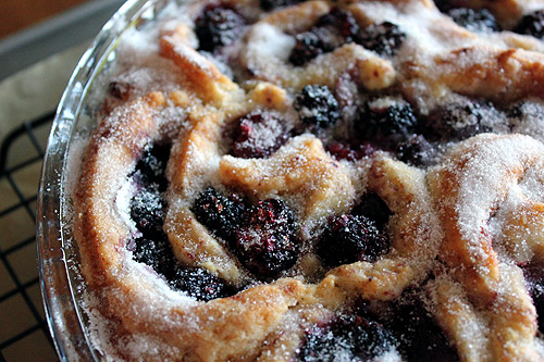 Colorful Food Recipes : .BLUE Domain Sale : .RED Domain Sale : .PINK Domain Sale : .BLACK Domain Sale - Blackberry Cobbler Roll