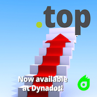 Dynadot Launches .TOP Domain : .TOP Domain Registrations - .TOP Domain Logo