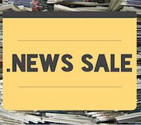 .NEWS Sale: Regsiter Today And Save Big - .NEWS Sale Picture