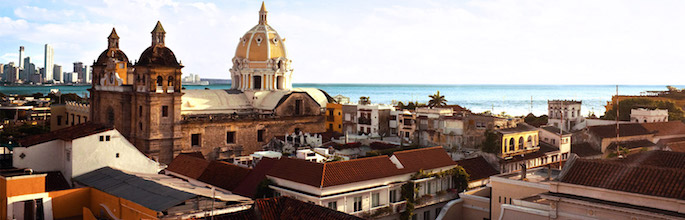 Colombia Travel Destinations : .CO Domain Registration : .CO Domain Sale - Cartagena, Colombia