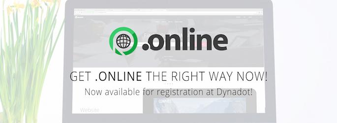 .ONLINE Domain Launch : .ONLINE Domain Sale : Register .ONLINE Domains