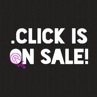 .CLICK Domain On Sale : Register Today : Save Big - .CLICK Photo