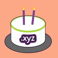 .XYZ's 2nd Anniversary: .XYZ Squad: $1 Domain Sale - .XYZ Anniversary