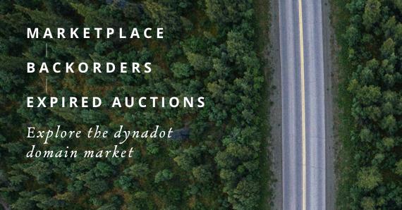 Explore the Dynadot Domain Market