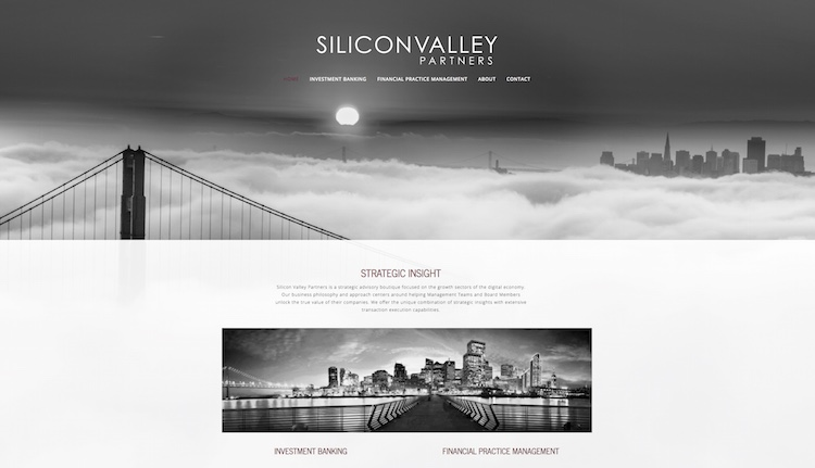 Silicon Valley Partners Website