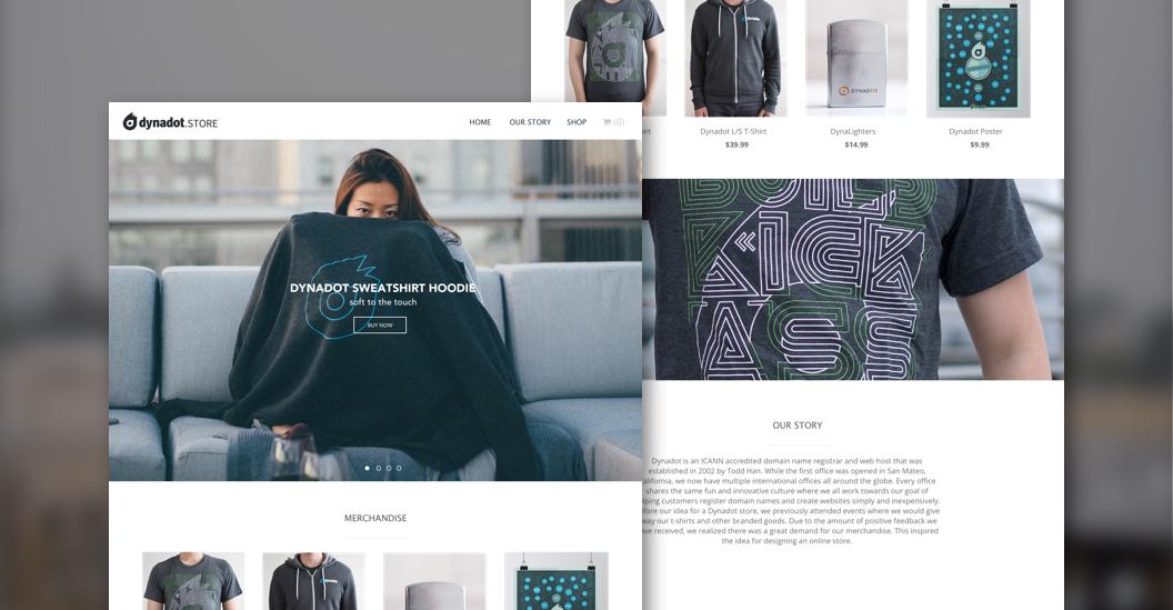 Dynadot Store Website