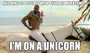 Anything is Possible Marketing Unicorn Thank You Meme