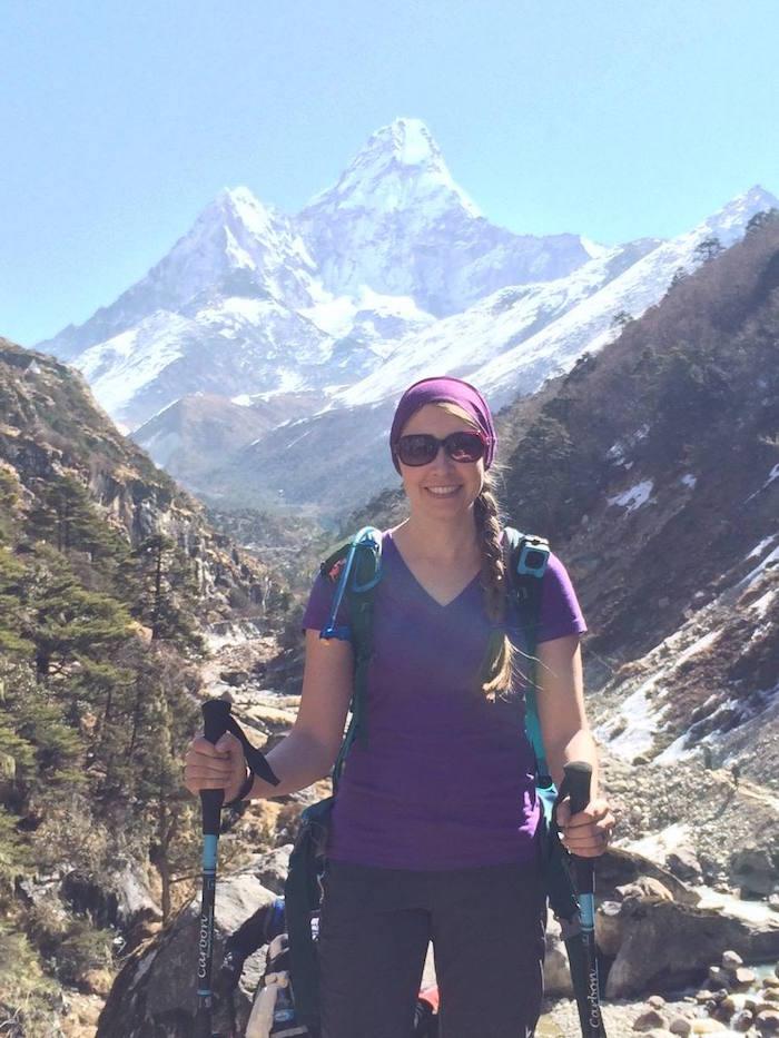 Mount Everest Hiker